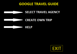 Travel Guide application