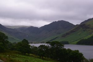 Lake Buttermere in Buttermere valley