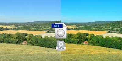Nikon D5300 NEF image processing