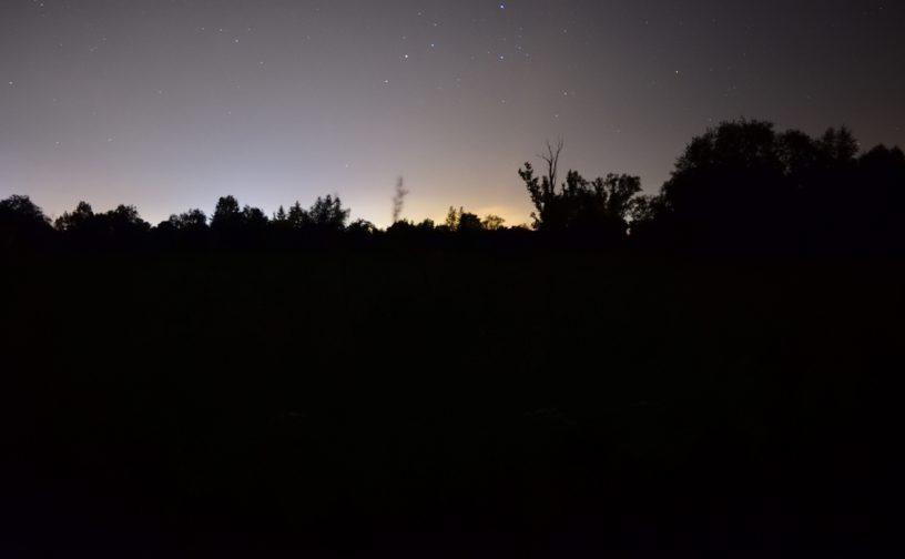 Nikon D5300 view from Odrzykoń to Krosno