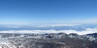 Capping inversion seen from Pico del Teide