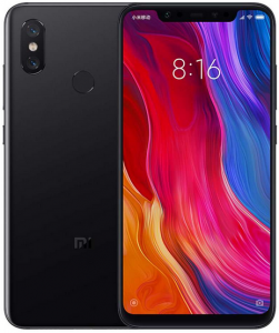 Xiaomi Mi 8 Global version head