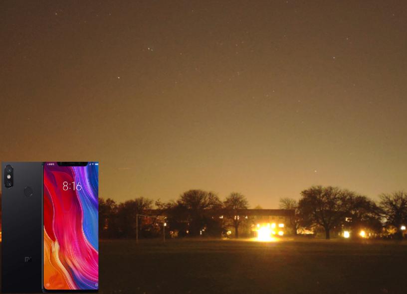 Xiaomi Mi 8 global - night photography