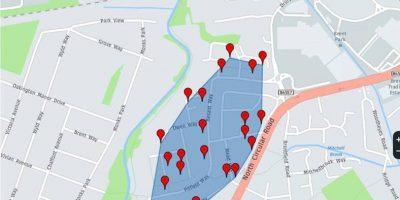 Dolgall.co.uk UK address list area covered