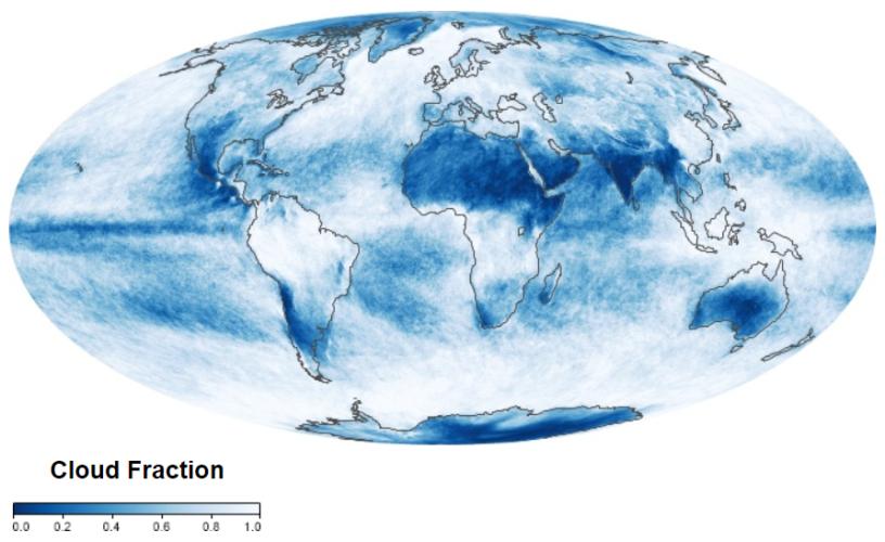 NASA cloud fraction
