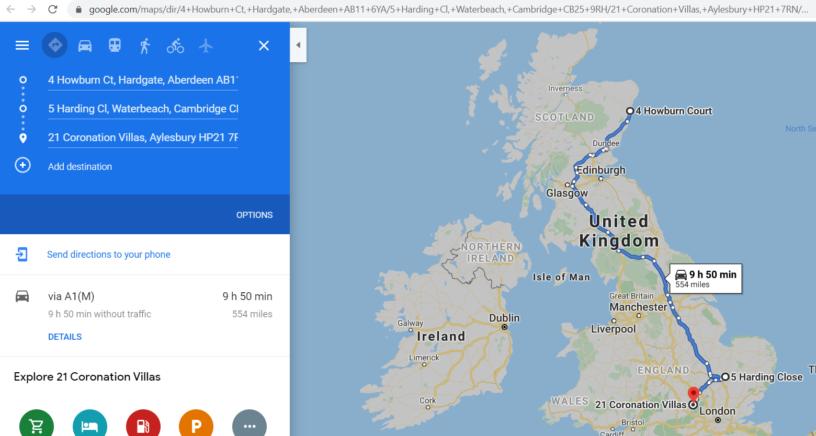 Google Maps directions VBA Excel3