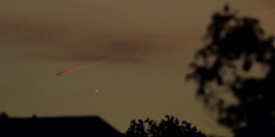 Venus crescent 29.05.2020 Waterbeach Recreation Ground