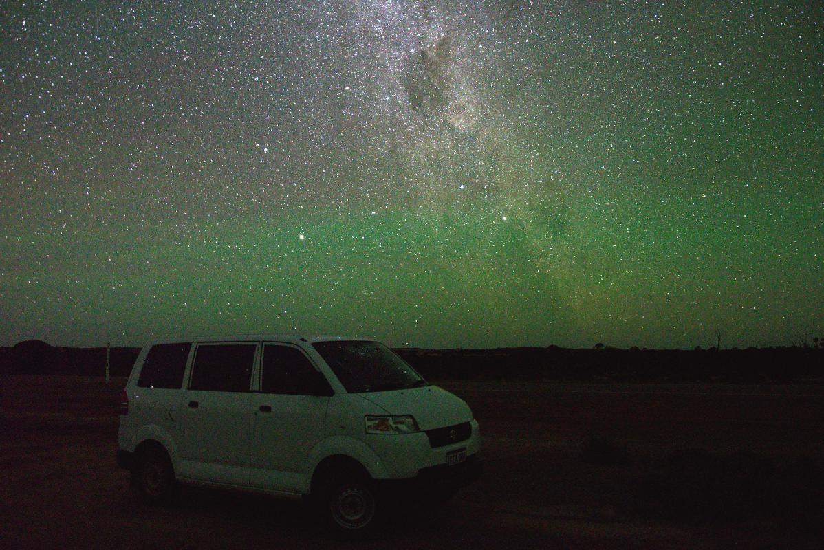 Milky Way near Hyden.